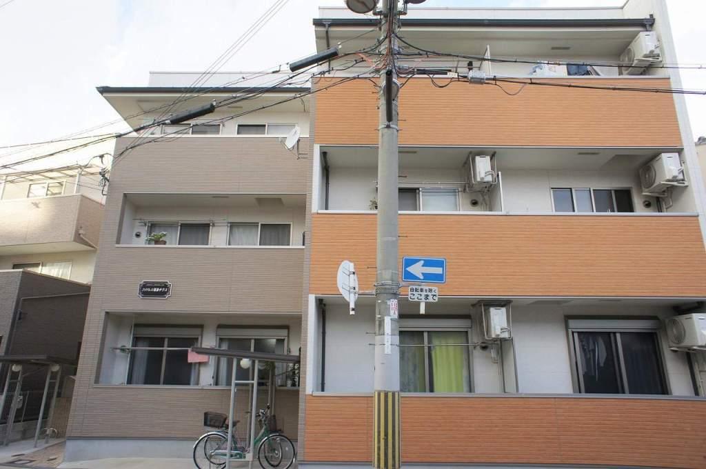 大阪府大阪市福島区、野田駅徒歩9分の築4年 3階建の賃貸アパート