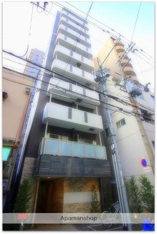 大阪府大阪市中央区、谷町六丁目駅徒歩5分の築2年 10階建の賃貸マンション