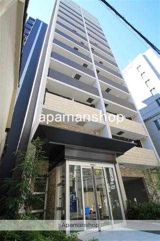 大阪府大阪市西区、渡辺橋駅徒歩8分の築1年 14階建の賃貸マンション