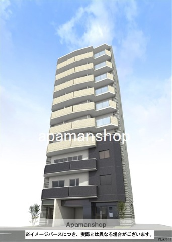 大阪府大阪市中央区、天満橋駅徒歩5分の新築 10階建の賃貸マンション
