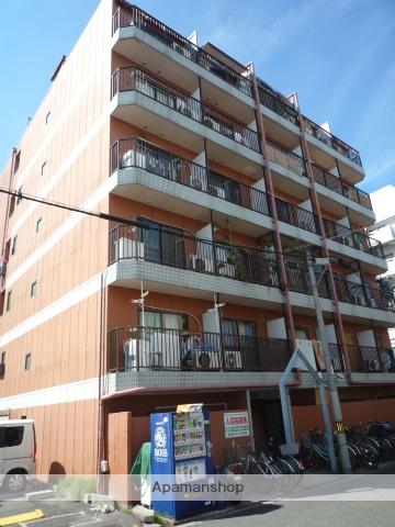大阪府大阪市西成区、天下茶屋駅徒歩5分の築22年 6階建の賃貸マンション