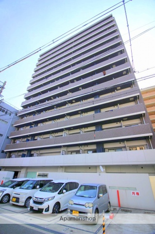 大阪府大阪市浪速区、JR難波駅徒歩10分の築3年 14階建の賃貸マンション