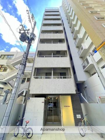 大阪府大阪市西区、渡辺橋駅徒歩8分の築3年 11階建の賃貸マンション