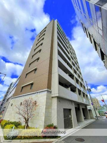 大阪府大阪市浪速区、難波駅徒歩10分の築2年 10階建の賃貸マンション