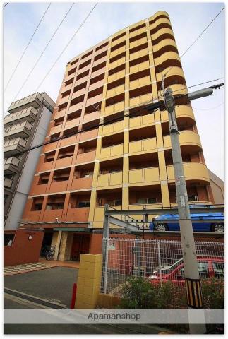 大阪府大阪市中央区、大阪難波駅徒歩8分の築12年 11階建の賃貸マンション