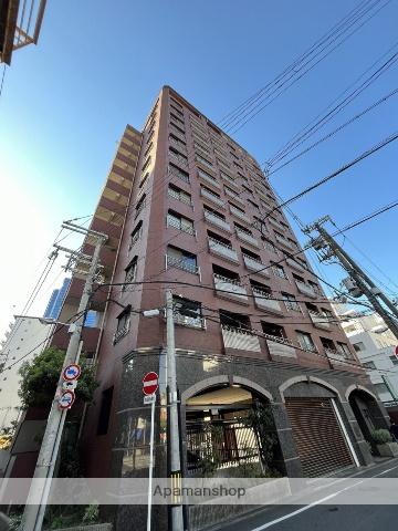 大阪府大阪市北区、梅田駅徒歩10分の築15年 13階建の賃貸マンション
