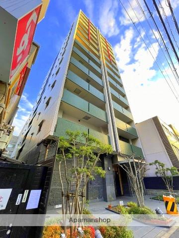 大阪府大阪市西区、汐見橋駅徒歩8分の築8年 13階建の賃貸マンション
