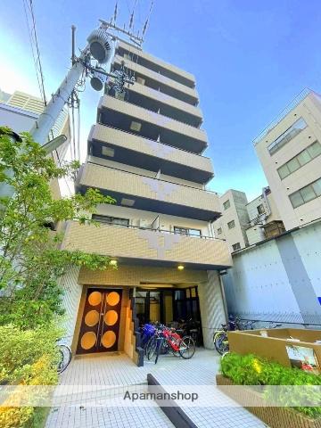 大阪府大阪市西区、本町駅徒歩5分の築20年 9階建の賃貸マンション