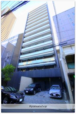 大阪府大阪市中央区、淀屋橋駅徒歩4分の新築 15階建の賃貸マンション