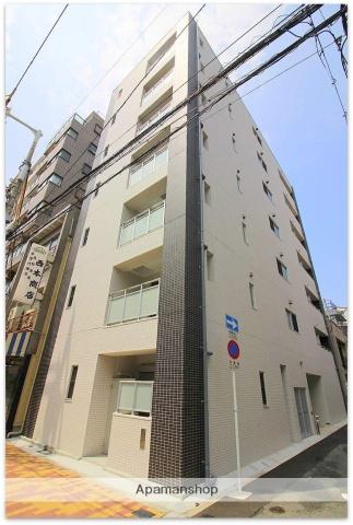 大阪府大阪市中央区、近鉄日本橋駅徒歩7分の新築 7階建の賃貸マンション
