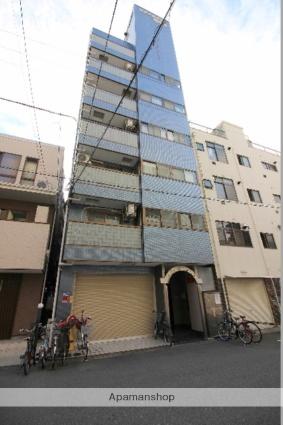 大阪府大阪市浪速区、新今宮駅徒歩7分の築18年 8階建の賃貸マンション