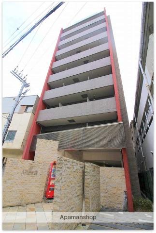 大阪府大阪市西区、ドーム前駅徒歩4分の築10年 9階建の賃貸マンション