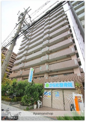 大阪府大阪市浪速区、JR難波駅徒歩5分の築20年 13階建の賃貸マンション