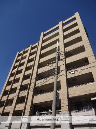 大阪府大阪市西成区、天下茶屋駅徒歩3分の築9年 9階建の賃貸マンション