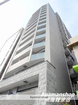 大阪府大阪市中央区、心斎橋駅徒歩2分の築2年 15階建の賃貸マンション