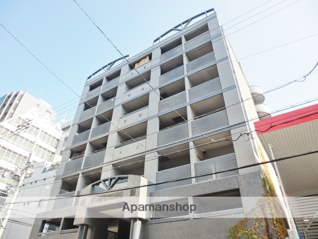 大阪府大阪市北区、大阪天満宮駅徒歩7分の築28年 8階建の賃貸マンション