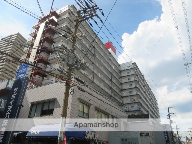 大阪府大阪市北区、天満駅徒歩12分の築31年 11階建の賃貸マンション