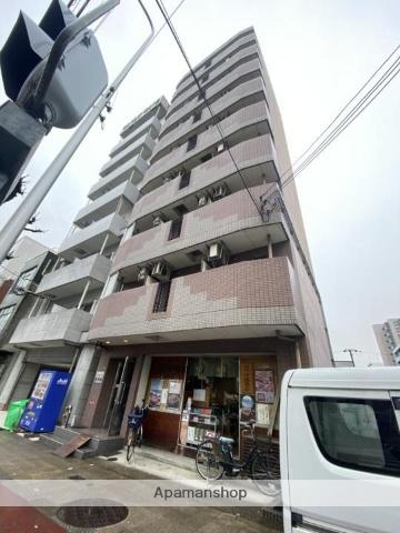 大阪府大阪市北区、天満駅徒歩17分の築17年 9階建の賃貸マンション