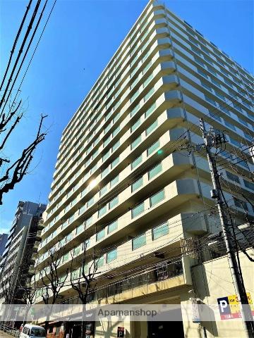 大阪府大阪市中央区、天満橋駅徒歩3分の築38年 15階建の賃貸マンション