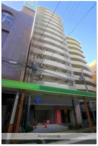 大阪府大阪市中央区、心斎橋駅徒歩12分の築3年 15階建の賃貸マンション