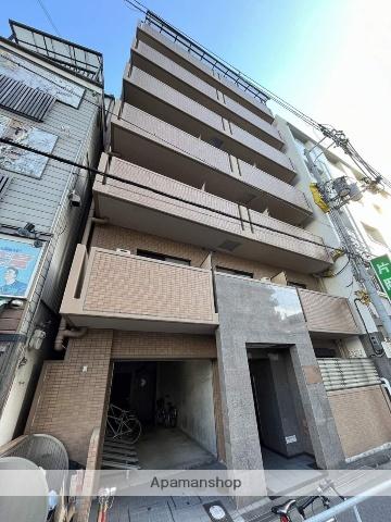 大阪府大阪市福島区、福島駅徒歩10分の築14年 7階建の賃貸マンション