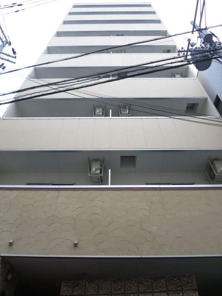 大阪府大阪市福島区、中之島駅徒歩6分の築4年 9階建の賃貸マンション