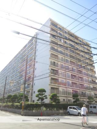 大阪府大阪市城東区、野江駅徒歩11分の築49年 11階建の賃貸マンション