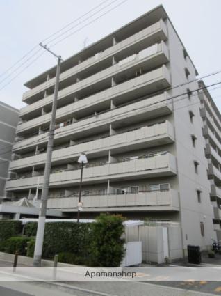 大阪府大阪市城東区、野江駅徒歩17分の築29年 8階建の賃貸マンション