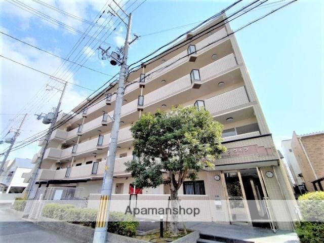 大阪府吹田市、吹田駅徒歩15分の築21年 5階建の賃貸マンション