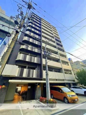 大阪府大阪市中央区、谷町四丁目駅徒歩6分の築2年 11階建の賃貸マンション