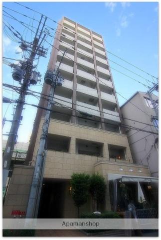 大阪府大阪市中央区、淀屋橋駅徒歩5分の築10年 11階建の賃貸マンション