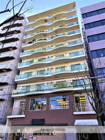 大阪府大阪市中央区、天満橋駅徒歩3分の築38年 10階建の賃貸マンション