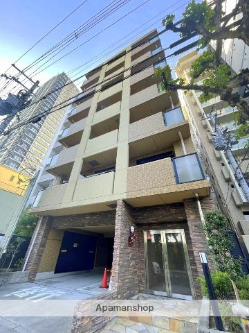 大阪府大阪市中央区、天満橋駅徒歩17分の築12年 7階建の賃貸マンション