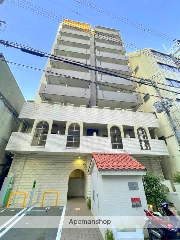 大阪府大阪市中央区、堺筋本町駅徒歩4分の築1年 10階建の賃貸マンション