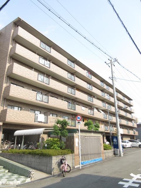 大阪府大阪市城東区、鴫野駅徒歩16分の築16年 6階建の賃貸マンション
