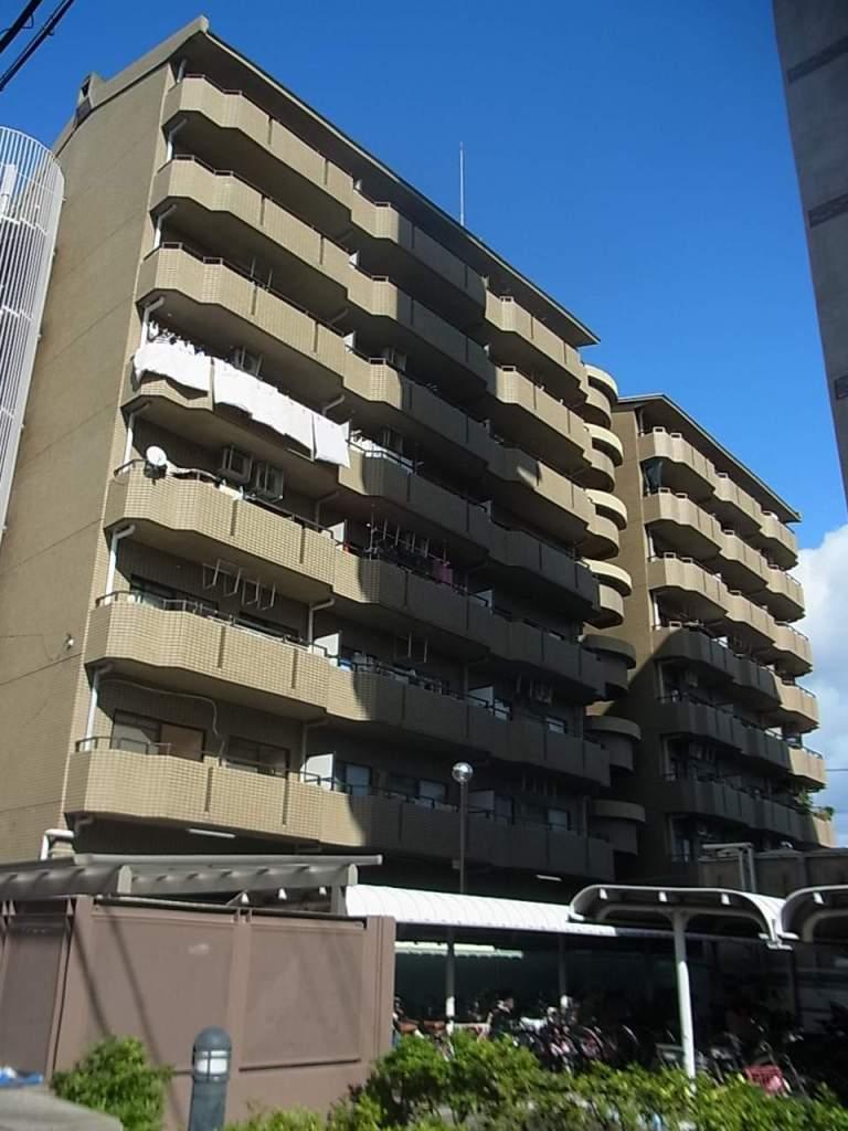 大阪府大阪市城東区、鴫野駅徒歩17分の築27年 8階建の賃貸マンション