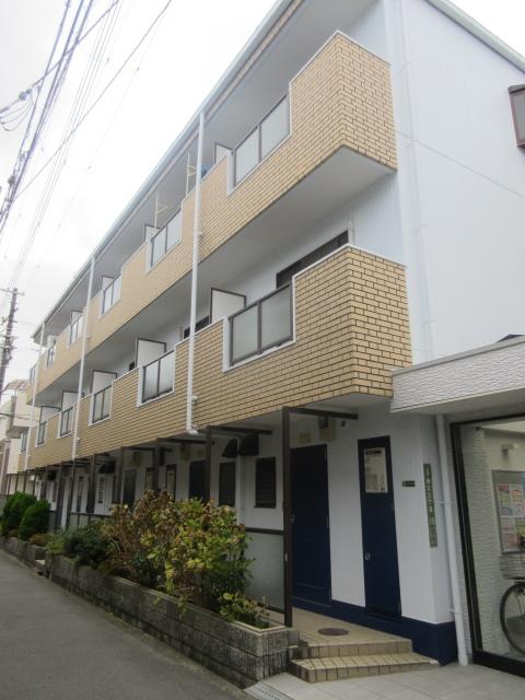大阪府大阪市城東区、野江駅徒歩7分の築26年 3階建の賃貸アパート
