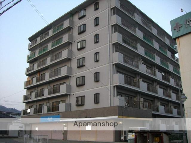 和歌山県岩出市、紀伊駅徒歩50分の築27年 8階建の賃貸マンション