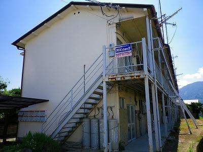 和歌山県紀の川市、打田駅徒歩10分の築40年 2階建の賃貸アパート
