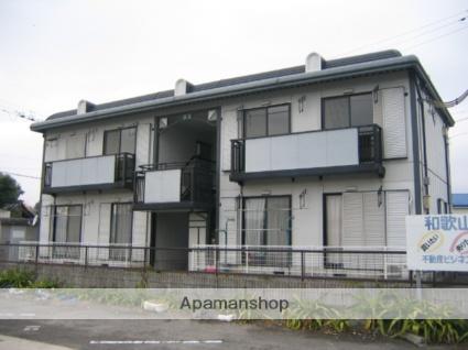 和歌山県和歌山市、紀伊小倉駅徒歩13分の築23年 2階建の賃貸アパート