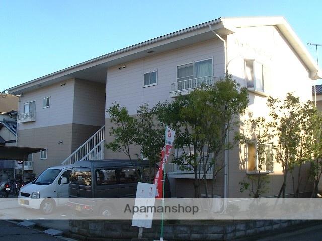 和歌山県紀の川市の築22年 2階建の賃貸アパート