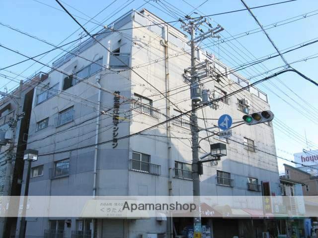 大阪府大阪市城東区、放出駅徒歩14分の築41年 5階建の賃貸マンション