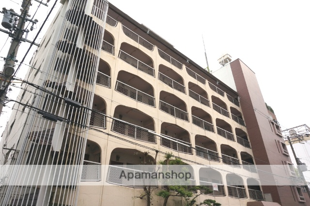 大阪府大阪市都島区、京橋駅徒歩8分の築40年 7階建の賃貸マンション