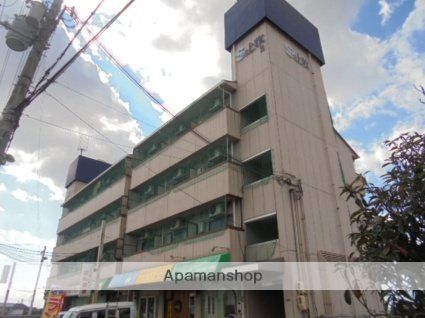 大阪府高槻市、島本駅徒歩19分の築30年 5階建の賃貸マンション