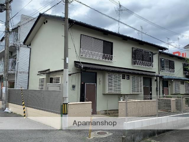 大阪府高槻市、摂津富田駅徒歩16分の築45年 2階建の賃貸アパート