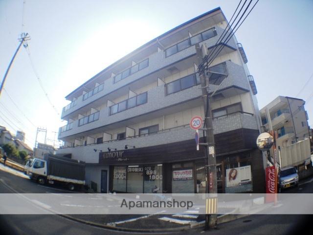 大阪府枚方市、枚方市駅徒歩23分の築26年 4階建の賃貸マンション