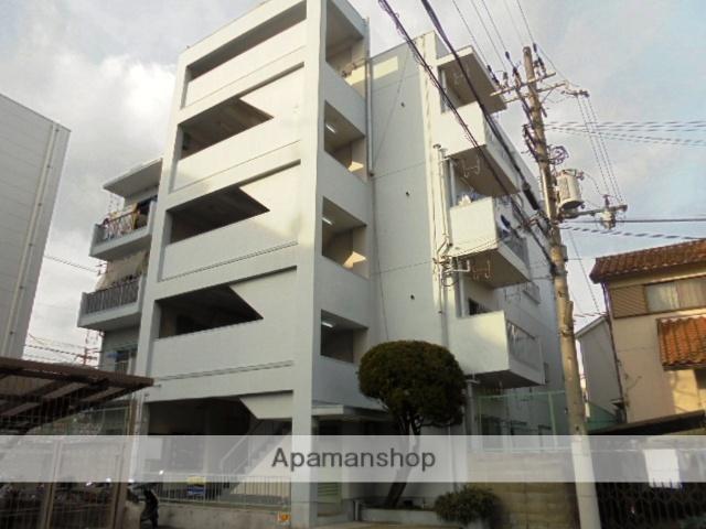 大阪府三島郡島本町、島本駅徒歩5分の築43年 4階建の賃貸マンション