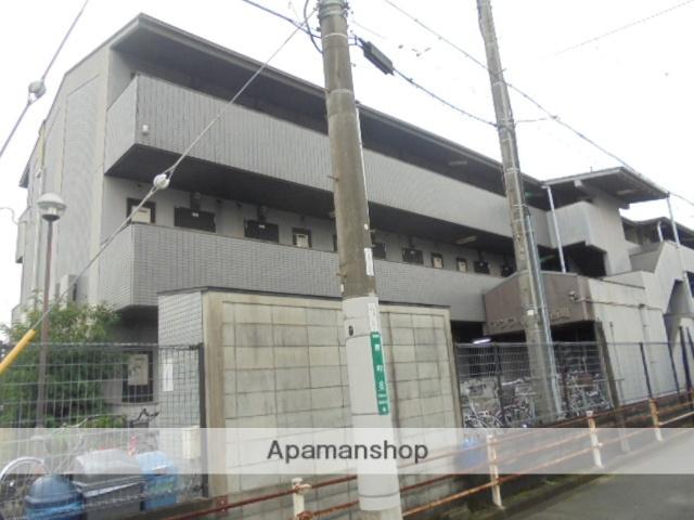 大阪府高槻市、富田駅徒歩20分の築26年 3階建の賃貸マンション