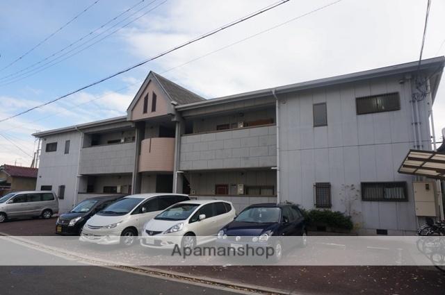 大阪府高槻市、高槻駅徒歩25分の築21年 2階建の賃貸マンション
