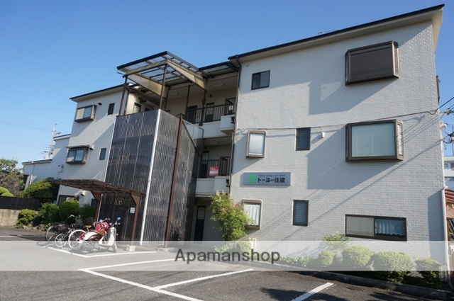 大阪府茨木市、摂津富田駅徒歩16分の築27年 3階建の賃貸マンション